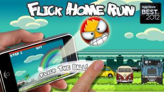 Flick Home Run ! iphone screenshot 1