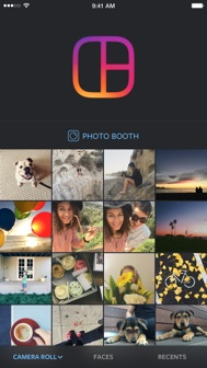 Layout from Instagram iphone screenshot 1