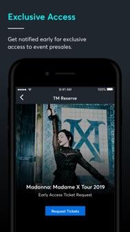 Ticketmaster-Buy, Sell Tickets iphone screenshot 1