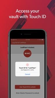 LastPass Password Manager iphone screenshot 4