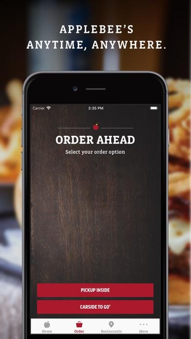 Applebee's iphone screenshot 1