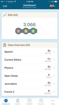 PowerSchool Mobile iphone screenshot 1