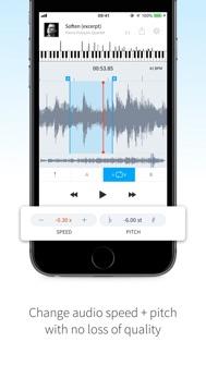 AudioStretch iphone screenshot 4