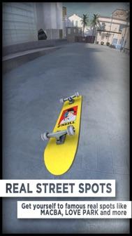 True Skate iphone screenshot 2