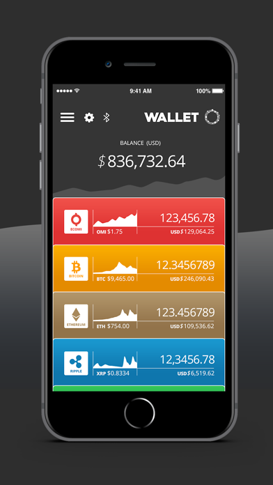 How to cancel & delete ECOMI Secure Wallet 3