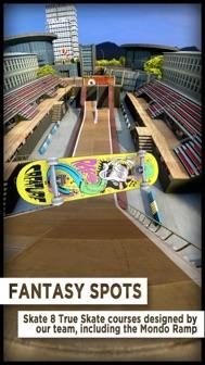 True Skate iphone screenshot 1