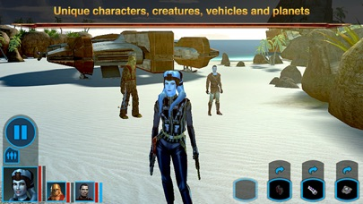 Star Wars™: KOTOR iphone screenshot 2
