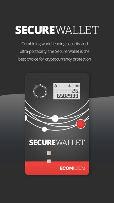 How to cancel & delete ECOMI Secure Wallet 0