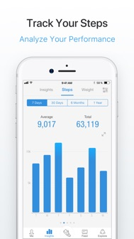 Pacer Pedometer & Step Tracker iphone screenshot 4