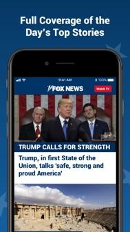 Fox News: Live Breaking News iphone screenshot 1