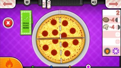 Papa's Pizzeria To Go! iphone screenshot 4