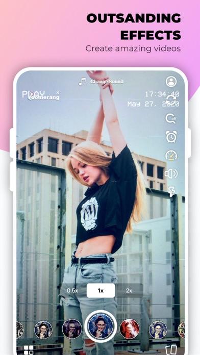 Zoomerang - Music Video Editor iphone screenshot 1
