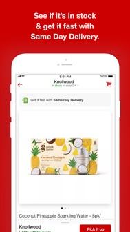 Target iphone screenshot 3