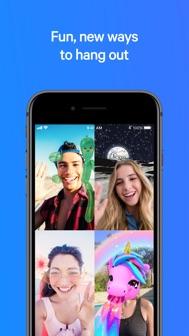 Messenger iphone screenshot 1