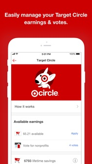 Target iphone screenshot 2