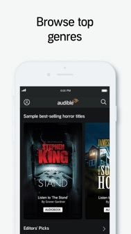 Audible audiobooks & podcasts iphone screenshot 4