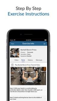 My Workout+ iphone screenshot 2
