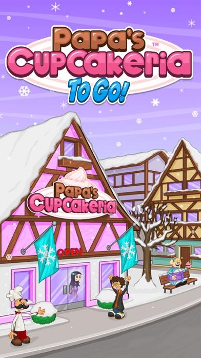 Papa's Cupcakeria To Go! iphone screenshot 1