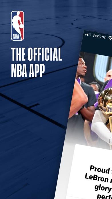 NBA: Live Games & Scores iphone screenshot 1