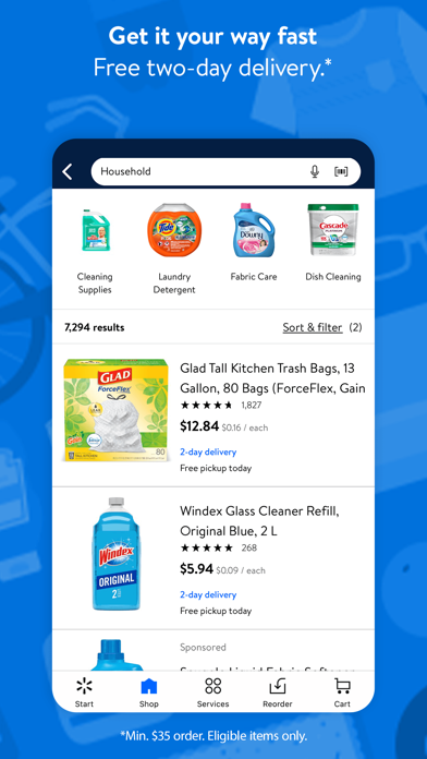 How to cancel & delete Walmart - Shopping & Grocery 3