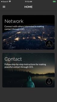 CE5 Contact iphone screenshot 3