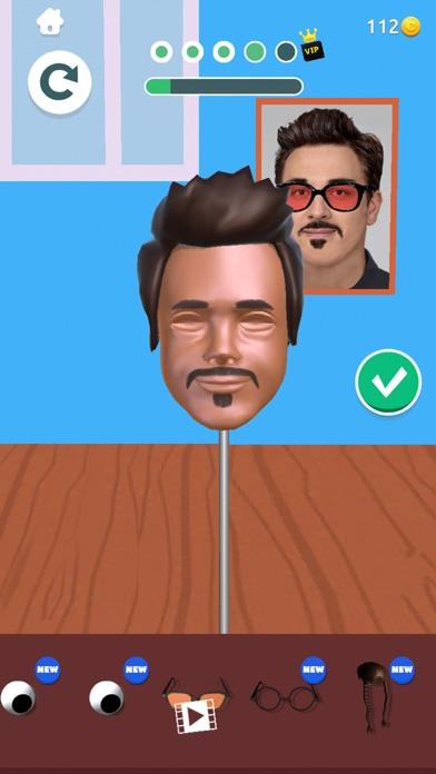 Sculpt people iphone screenshot 4