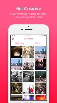 Lomotif: Edit Video. Add Music iphone screenshot 4
