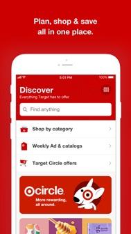 Target iphone screenshot 1