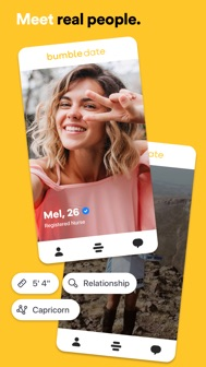 Bumble - Dating & Meet People iphone screenshot 1