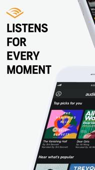Audible audiobooks & podcasts iphone screenshot 1