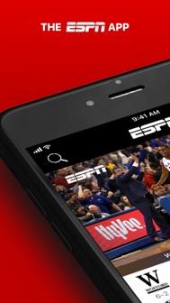 ESPN: Live Sports & Scores iphone screenshot 1
