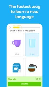Duolingo - Language Lessons iphone screenshot 1