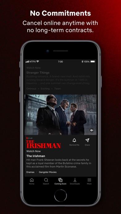 Netflix iphone screenshot 4