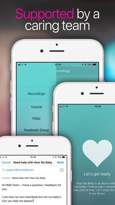 How to cancel & delete Hear My Baby Heartbeat App 3