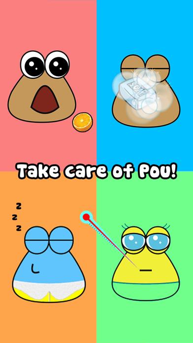 How to cancel & delete Pou 1