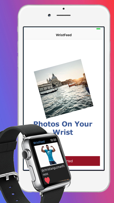 How to cancel & delete WristFeed for Instagram 1
