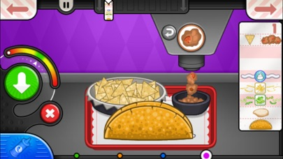 Papa's Taco Mia To Go! iphone screenshot 4