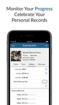 My Workout+ iphone screenshot 3