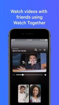 Messenger iphone screenshot 3