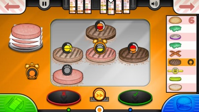 Papa's Burgeria To Go! iphone screenshot 3