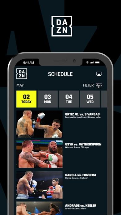 DAZN: Live Sports Streaming iphone screenshot 2