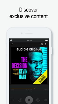 Audible audiobooks & podcasts iphone screenshot 3