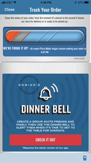 Domino's Pizza USA iphone screenshot 3