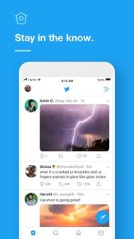 Twitter iphone screenshot 4