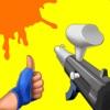 Paintball Shoot - Knock'em All delete, cancel