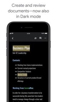 Google Docs: Sync, Edit, Share iphone screenshot 4
