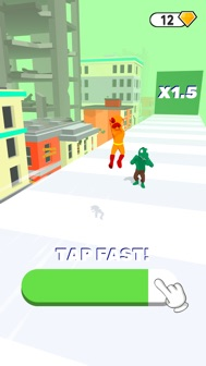 Super Hero Run 3D iphone screenshot 3