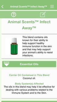Ref Guide for Essential Oils iphone screenshot 4