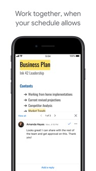 Google Docs: Sync, Edit, Share iphone screenshot 2