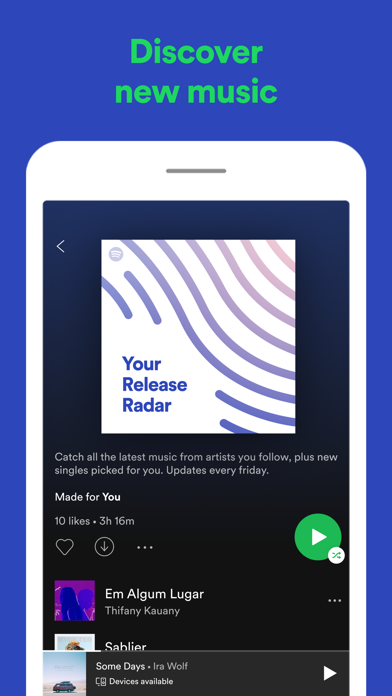 How to cancel & delete Spotify: Discover new music 1